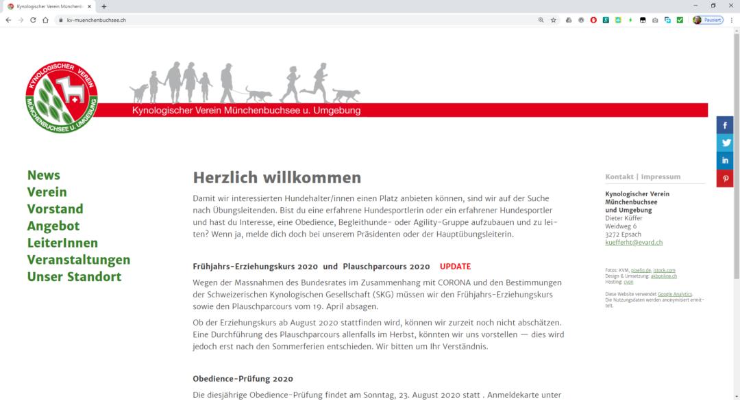 Kynologischer Verein Münchenbuchsee
