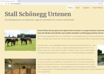 Website Stall Schönegg