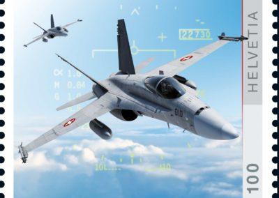 Die Post lässt Kampfjets steigen